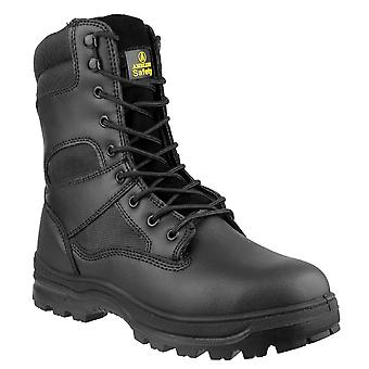 Amblers Mens FS008 Steel Toe & Midsole Leather Safety Boot S3-SRC