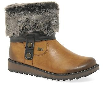Remonte Drift Womens Warm Lined Ankle Boots