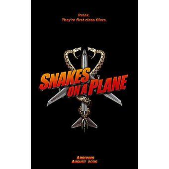 Serpientes en un plano Movie Poster (11 x 17)