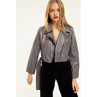 Ouor Belted Crop Jacket