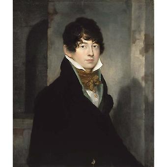 Self-Portrait, Washington Allston, 80.3 x 67,3 cm