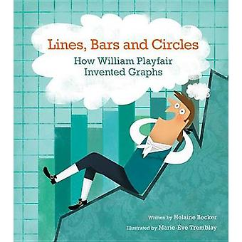 Lines - Bars and Circles - How William Playfair Invented Graphs by Hel