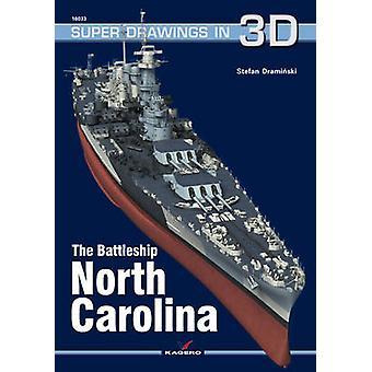 The Battleship USS North Carolina by Stefan Draminski - 9788364596360