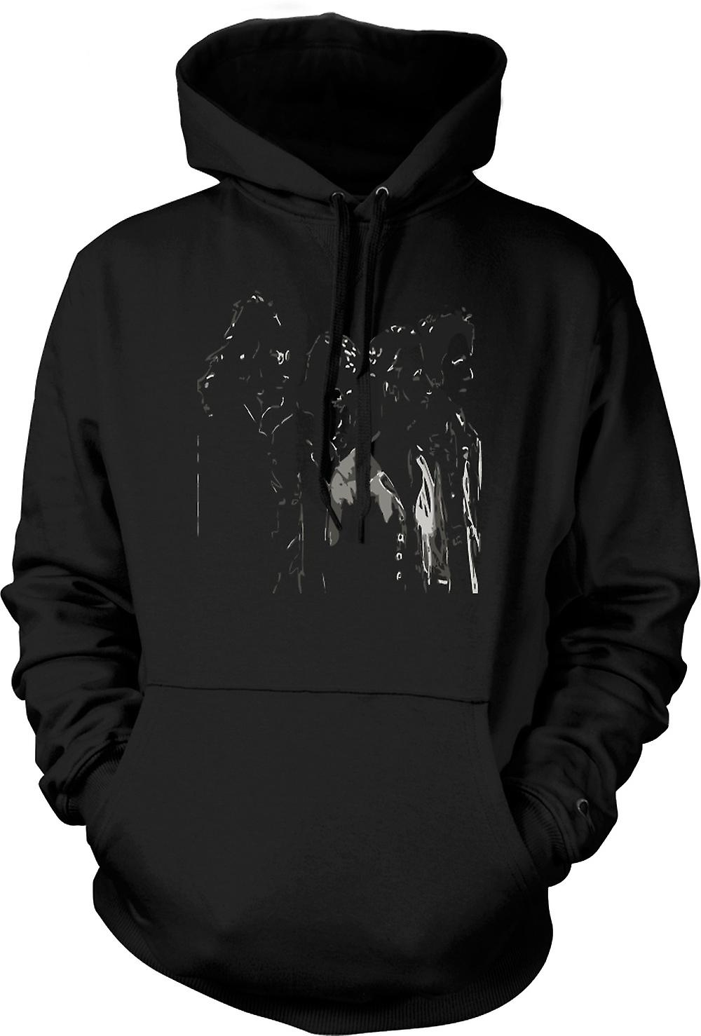 Mens Hoodie - The Beatles - Band - Pop Art