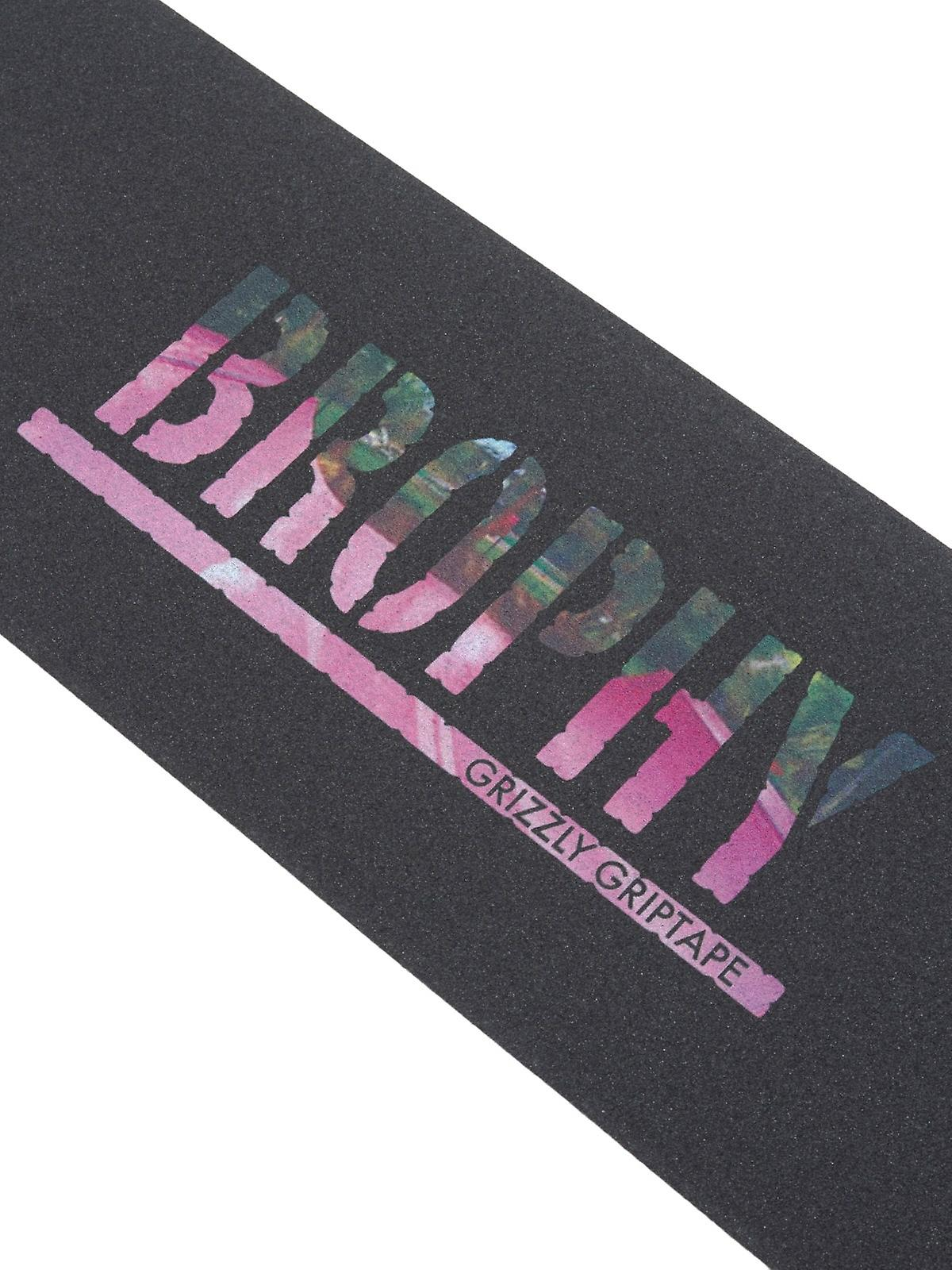 Grizzly Black Andrew Brophy Skateboard Grip Tape