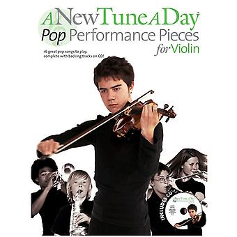 A New Tune A Day Pop PP Violin Book&CD
