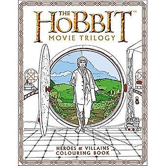Le livre à colorier Hobbit film Trilogy