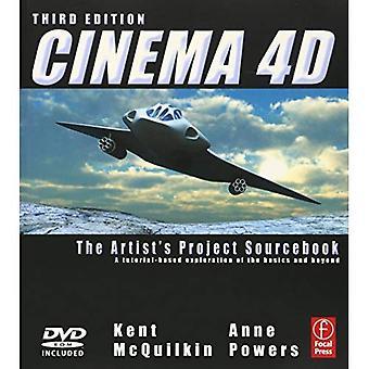 Cinema 4D: konstnärens projekt Sourcebook