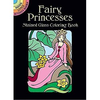 Fairy Princesses Stained Glass Coloring Book (Dover Little Activity Books)