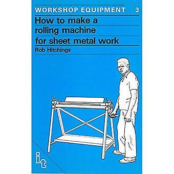 Hur man gör en rullande maskin för plåtbearbetning
