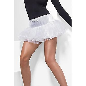 Womens Petticoat White  Fancy Dress Accessory