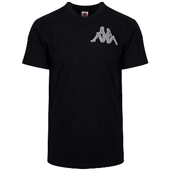 Kappa Kappa authentique Batir T-Shirt noir