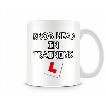 KN ** cabeza en la taza de entrenamiento
