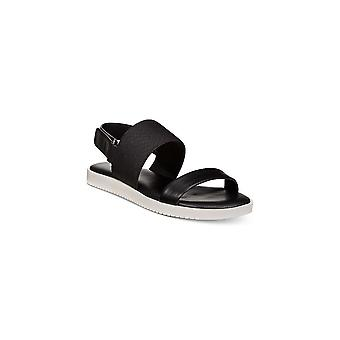 Alfani Womens Shaee Leather Open Toe Casual Ankle Strap Sandals