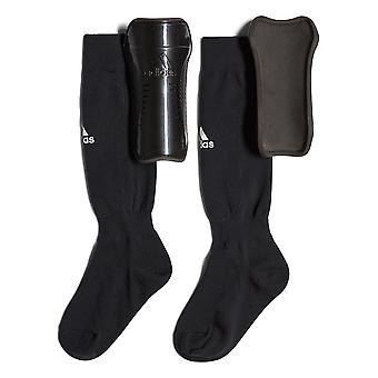 adidas Youth Sock Guard Football Soccer Shinguard Shin Pad Black