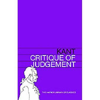Kritik av domen av Kant & Immanuel