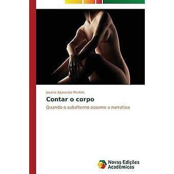 Contar o corpo por Martins Josiane Aparecida