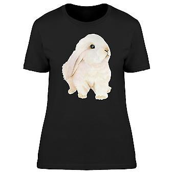 Niedlichen Häschen T-Shirt Frauen Nachschlagen-Bild von Shutterstock