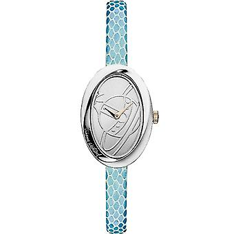 Vivienne Westwood Vv098slbl The Twist Silver & Blue Leather Ladies Watch