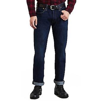 Levis 501 Original Fit Jeans Schwamm Straße blau 005012698