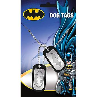 Batman logo dog tag hänge
