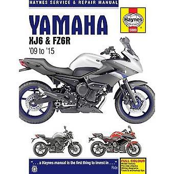 Yamaha XJ6 Service and Repair Manual - 2009-2015 by Matthew Coombs - 9