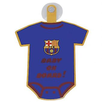 Barcelona Baby On Board Sign