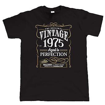 Vintage 1975 alderen til perfeksjon, Mens T-skjorte