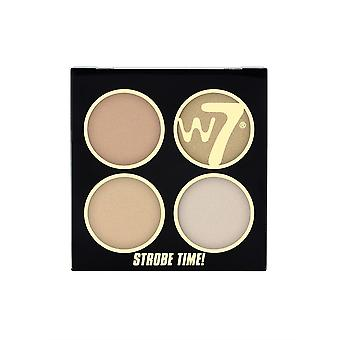 W7 Strobe Time Shimmering Powders - It's Glow Time