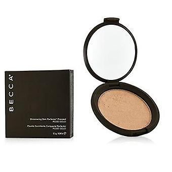 Becca Shimmering Skin Perfector Pressed Powder - # Rose Gold - 8g/0.28oz
