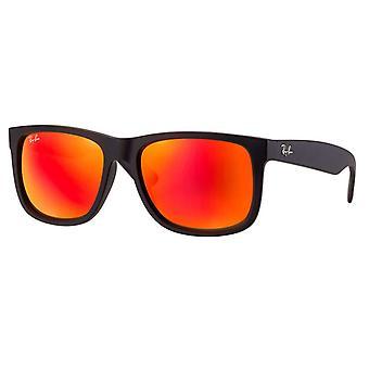 Ray-Ban Justin kleur Mix Unisex zonnebril - RB4165-622/6Q-51
