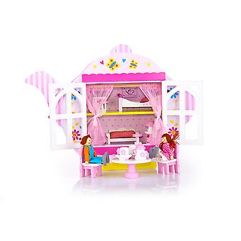 Leomark Teapot Wooden Dolls House