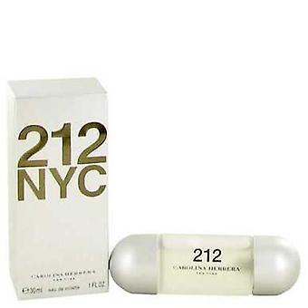 212 By Carolina Herrera Eau De Toilette Spray (new Packaging) 1 Oz (women) V728-414609