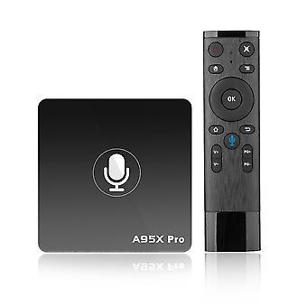 A95x pro Amlogic s905w 2GB RAM 16GB ROM Android TV caixa com controle de voz
