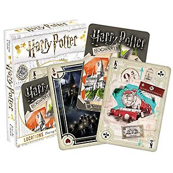 Playing Card - Harry Potter - Locations Poker New 52479