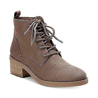 Style & Co. Womens Rizio Suede Almond Toe Ankle Fashion Boots
