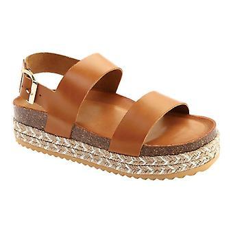 Aldo Womens ruryan Leather Open Toe Casual Platform Sandals