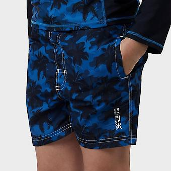 New Regatta Kid's Skander Swimming Shorts Blue