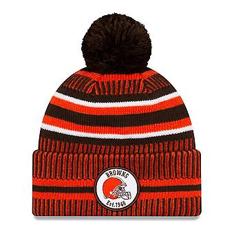 New Era Sideline Bommel Kinder Youth Mütze Cleveland Browns