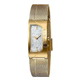 Esprit ES1L045M0215 Houston Glam Silver Gold Mesh Women's Watch