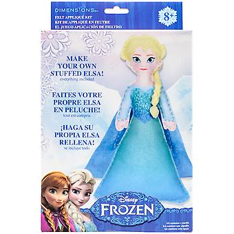 Elsa Frozen Stuffable Felt Applique Kit- 72-74476