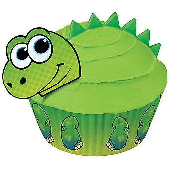 Cupcake Decorating Kit Makes 24 Dinosaur 415 0760