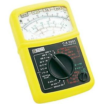 Handheld multimeter Chauvin Arnoux C.A 5001 Calibrated to: Manufacturer standards