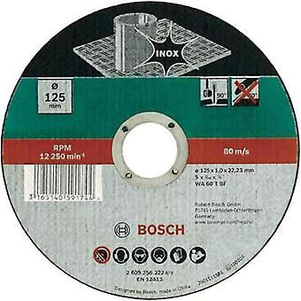Bosch Accessories 2609256320 Straight cutting disc, inox
