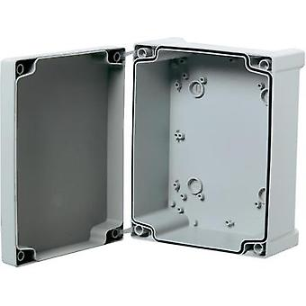 Wall-mount enclosure 187 x 122 x 90 Acrylonitrile butadiene styrene Grey (RAL