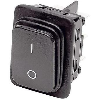 Toggle switch 250 Vac 12 A 2 x On/Off/On Marquardt