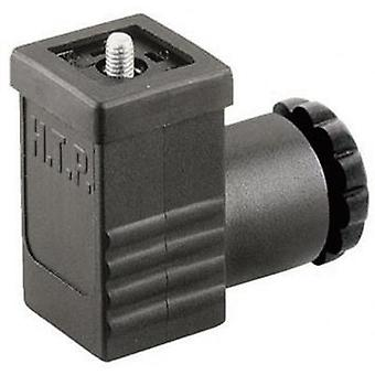 Hirschmann 933 023-100 GDSN 307 Cable Socket, Freely Configurable Black Number of pins:3 + PE