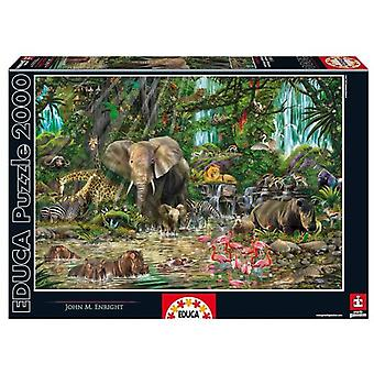 Educa African Jungle Puzzle (Spielzeuge , Brettspiele , Puzzles)