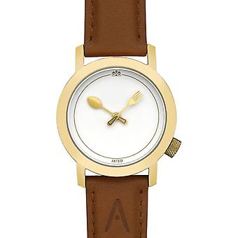 Akteo Gastronomy 01 Gold (1) (Fashion accesories , Watches , Analog)