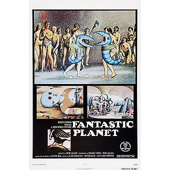 Fantastic Planet 1973 Movie Poster Masterprint